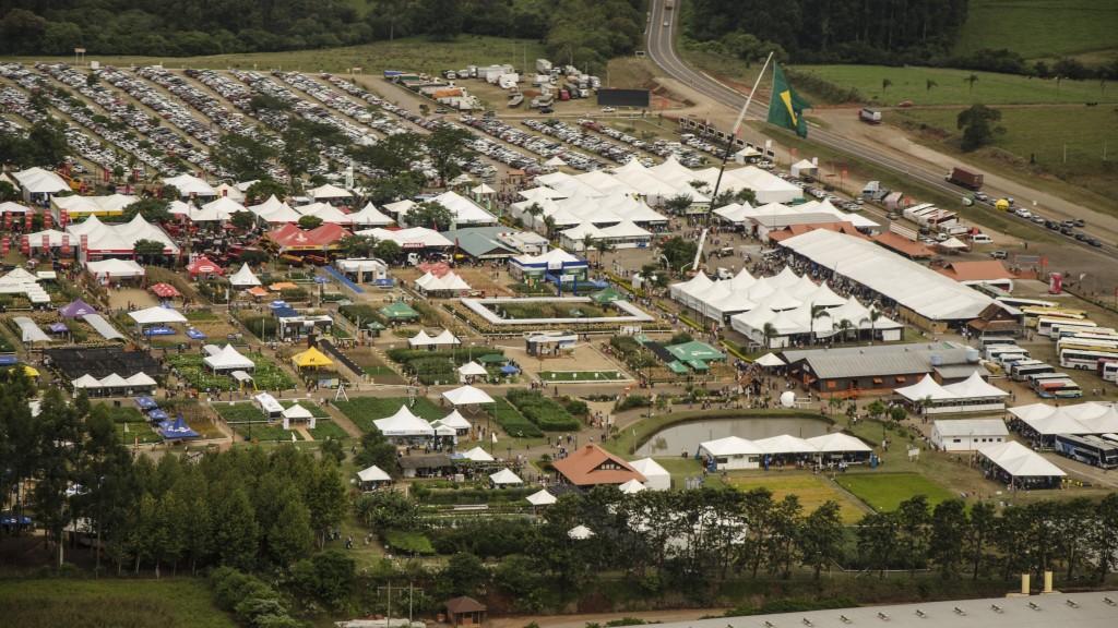 Expoagro Afubra 2014 - vista aérea