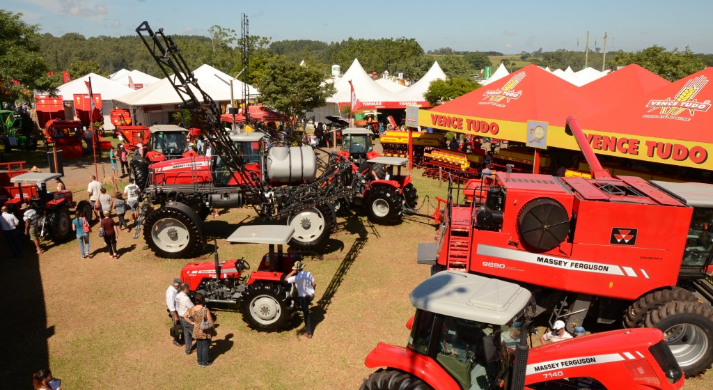 Expoagro Afubra 2014 - Máquinas